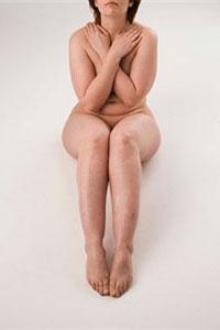 El cuerpo desnudo de la mujer. ¡Fuera vergüenza y pudor!